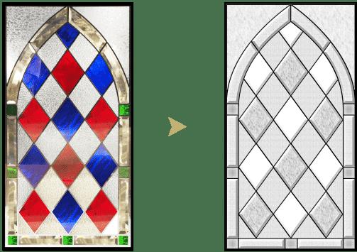 セミオーダーステンドグラス_色変更2