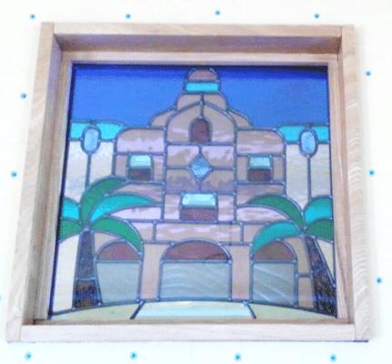 ハワイ ステンドグラス デザイン